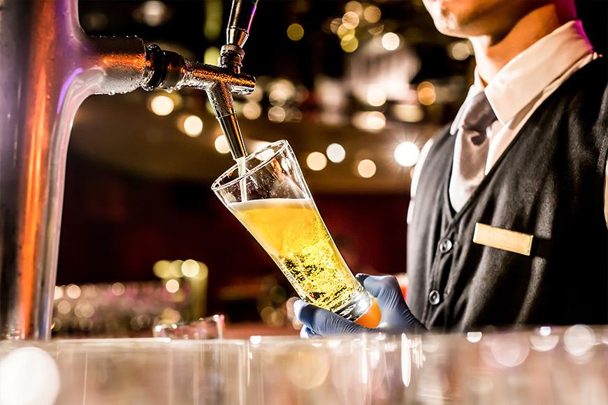 Bar Staff, Employees for bar